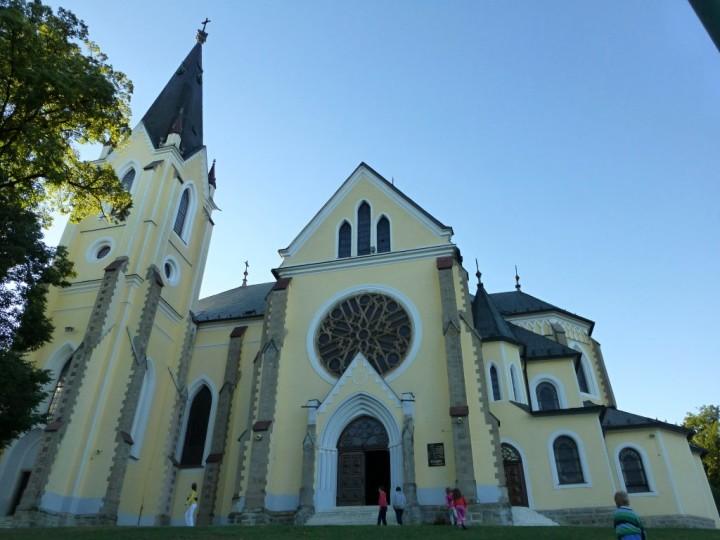 Navštívenia Panny Márie - Mariánska hora, Najkrajšie miesta na Slovensku