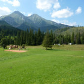 Výhľad z Hotela Magura, Ždiar, Belianske Tatry, Slovensko