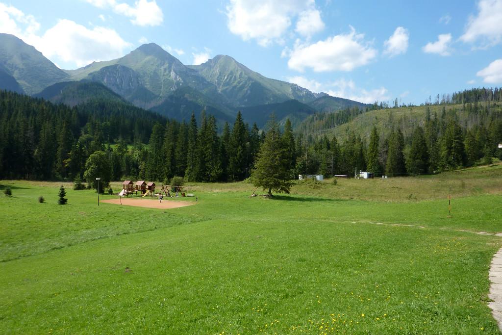 Výhľad z Hotela Magura, Ždiar, Belianske Tatry, Najkrajšie miesta na Slovensku