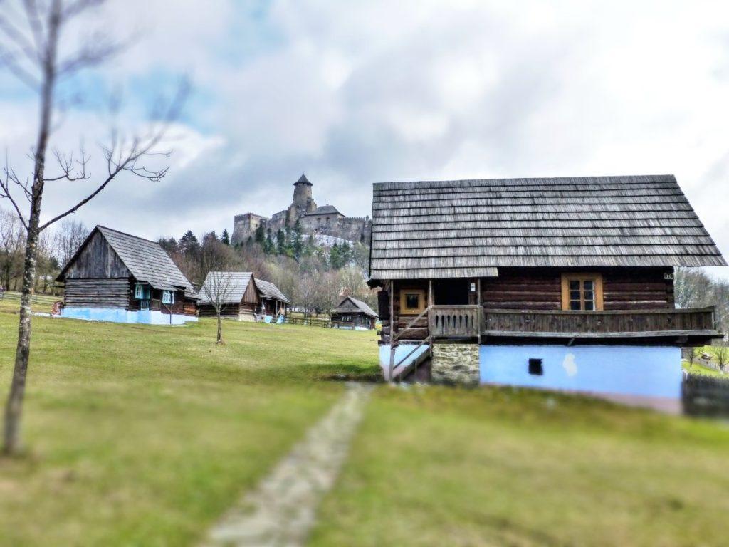 Hrad a skanzen Stará Ľubovňa, Najkrajšie miesta na Slovensku