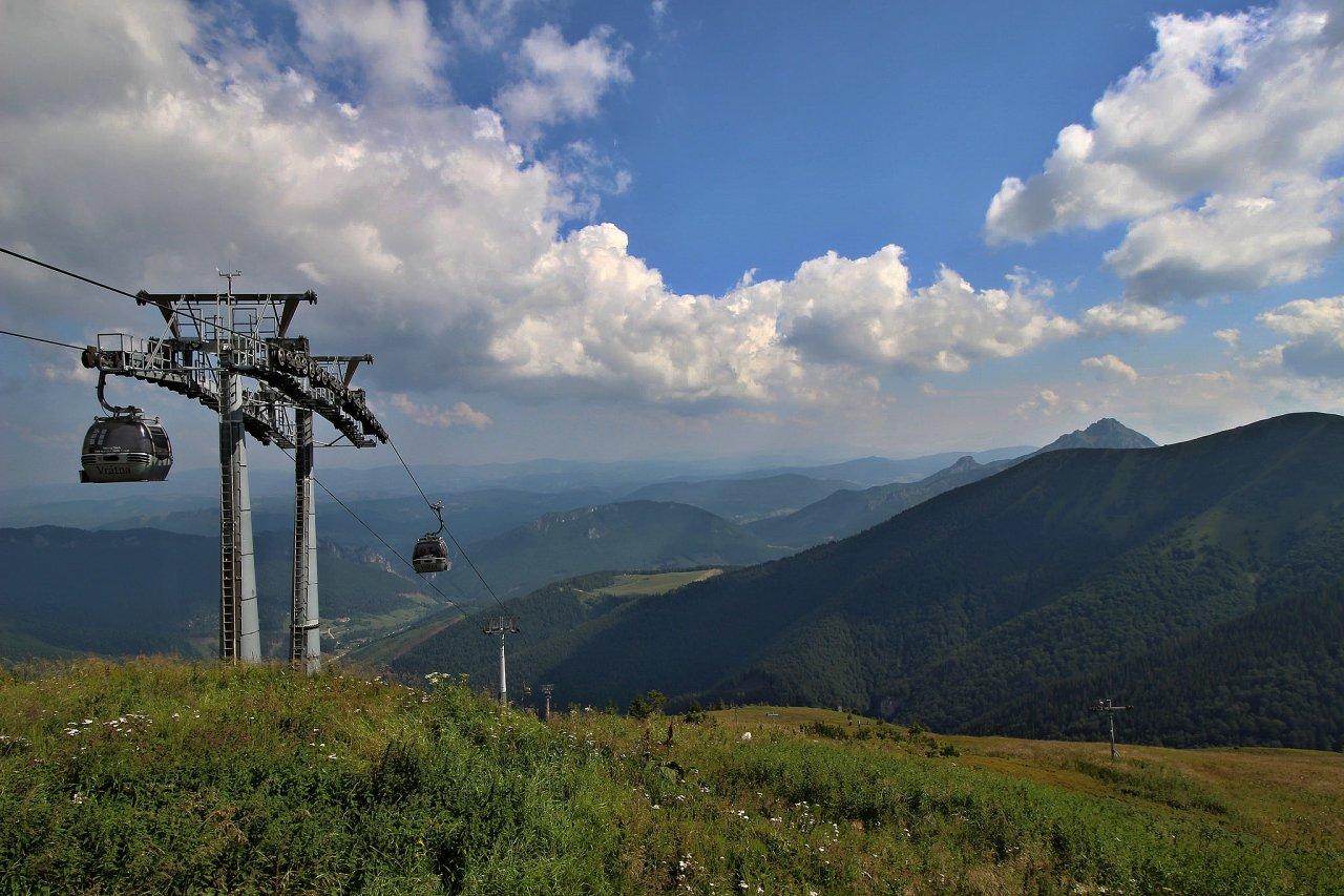 Lanovka Vrátna -> Snilovské sedlo, Národný park Malá Fatra, Najkrajšie miesta na Slovensku