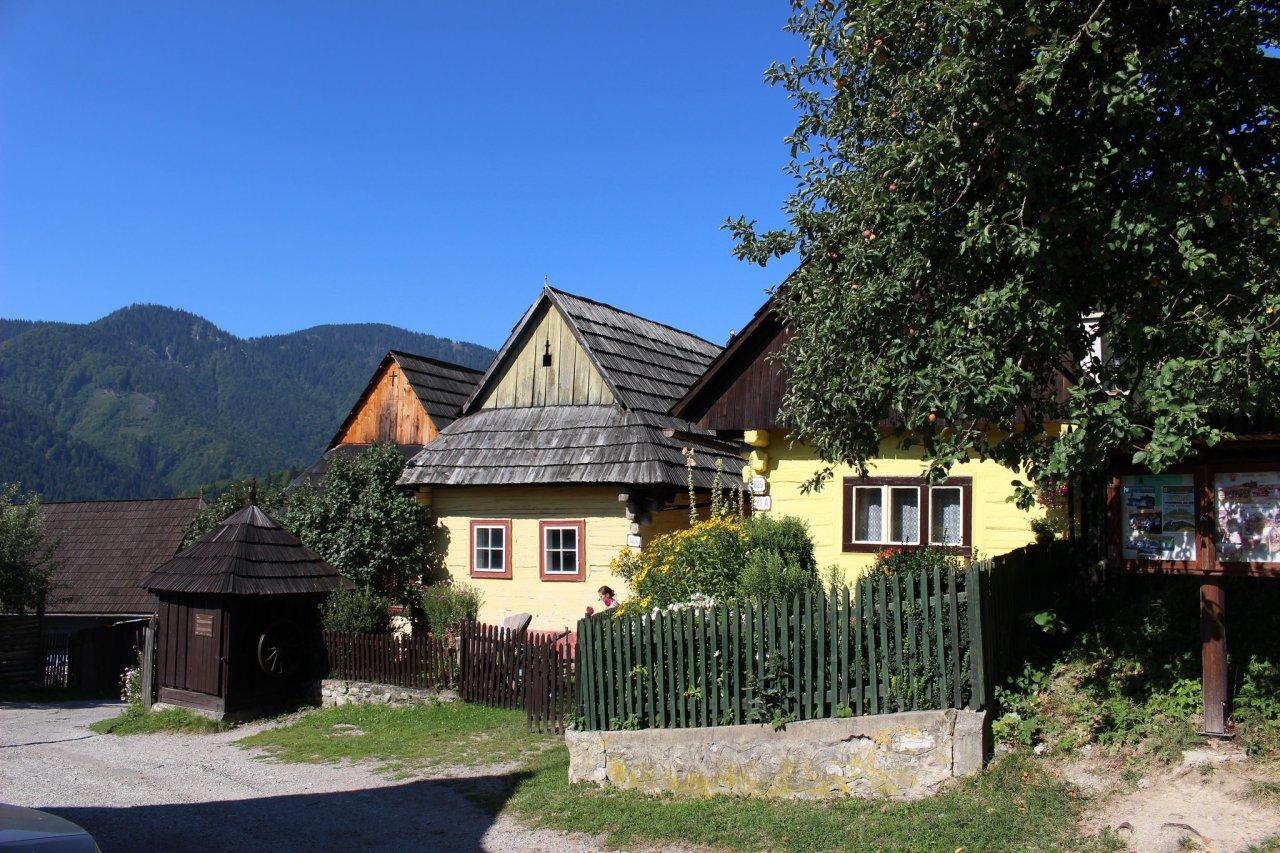 Vlkolínec – UNESCO dedinka, Najkrajšie miesta na Slovensku 3