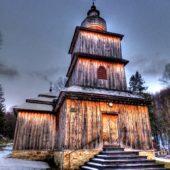 Drevený kostolík, Dobroslava, Svidník, Slovensko