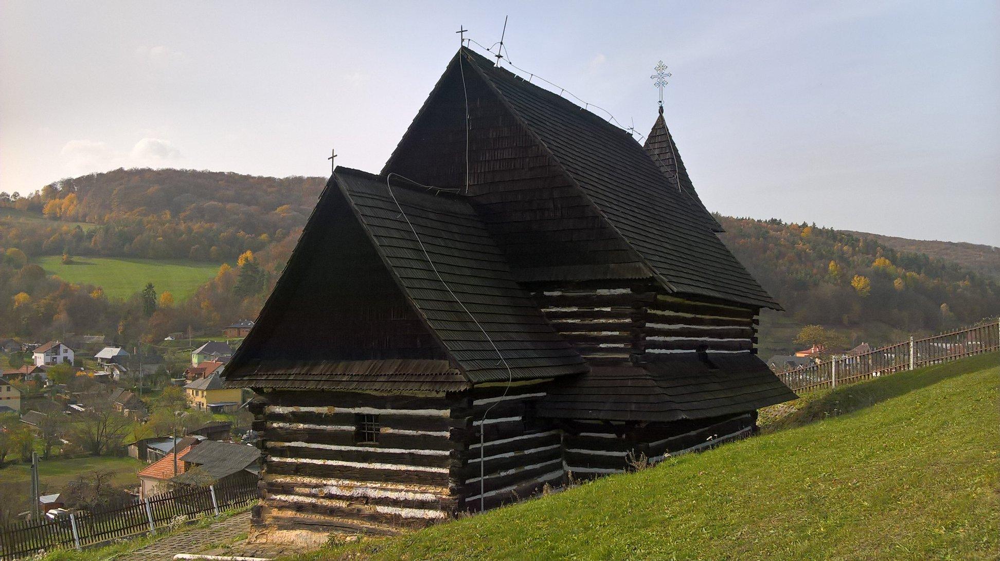 Drevený chrám Brežany – Okres Prešov, Drevené kostolíky na Slovensku