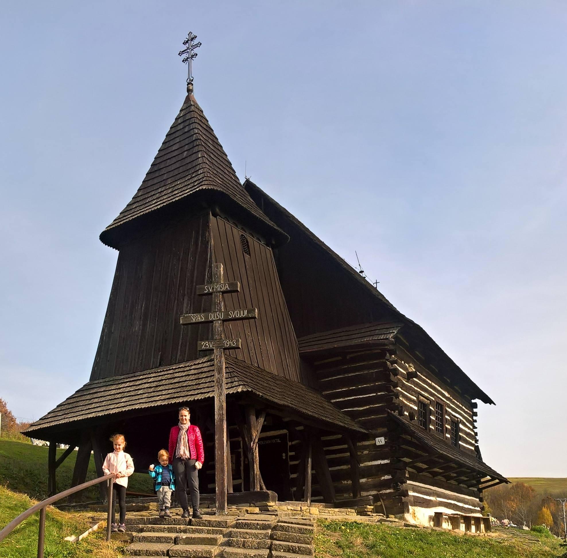 Drevený chrám Brežany – Okres Prešov, Drevené kostolíky na Slovensku 4