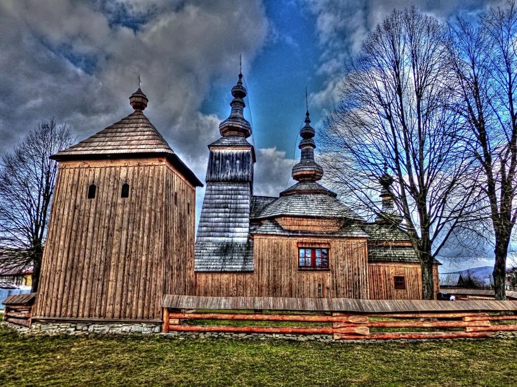 Drevený kostolík Ladomirová, okres Svidník, Slovensko