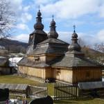 Drevený kostolík Miroľa, okres Svidník, Slovensko