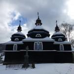Drevený kostolík Nižný Komárnik, okres Svidník, Slovensko