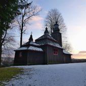 Drevený kostolík Šemetkovce, okres Svidník, Slovensko