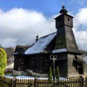 Drevený kostolík Hraničné, Stará Ľubovňa, Prešovský kraj, východné Slovensko