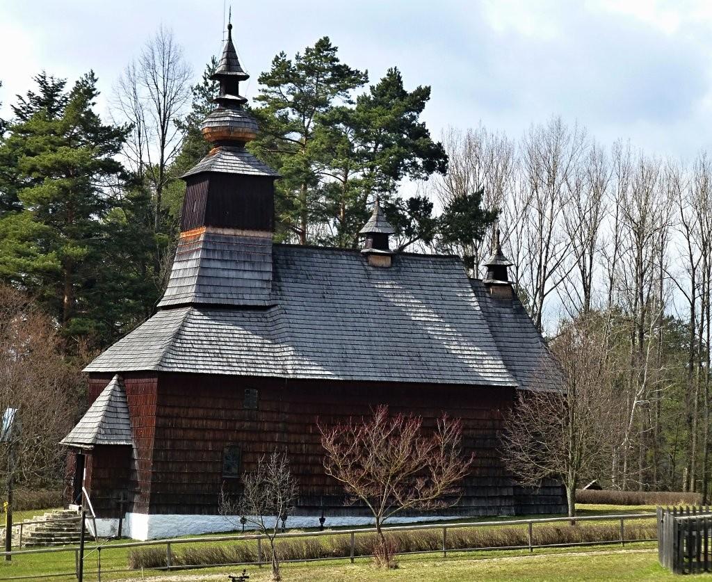 Drevený kostolík z Matysovej z roku 1833