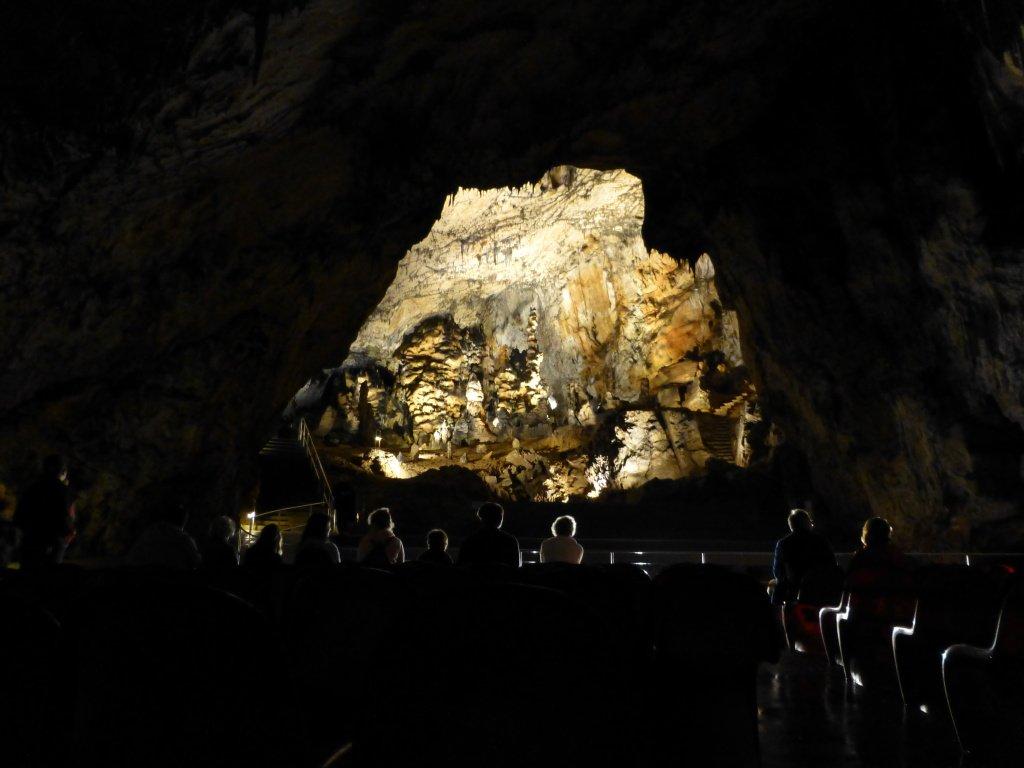 Jaskyňa Baradla – zvukovo svetelná šou, Aggtelek Národný Park, Maďarsko