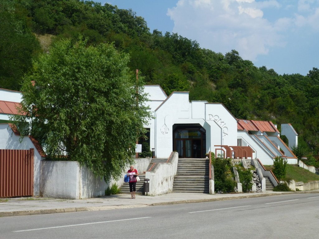 Vstupná hala do jaskyne Domica, Slovensko