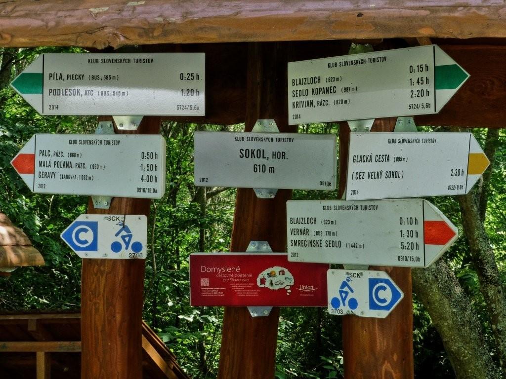 Tiesňava Veľký Sokol, Slovenský Raj Národný Park, Slovensko - 335
