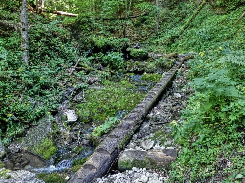Tiesňava Veľký Sokol, Slovenský Raj Národný Park, Slovensko - 413