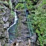 Tiesňava Veľký Sokol, Slovenský Raj Národný Park, Slovensko - 446