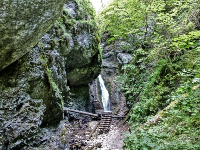 Tiesňava Veľký Sokol, Slovenský Raj Národný Park, Slovensko - 463