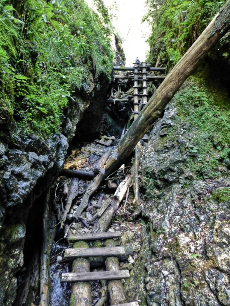 Tiesňava Veľký Sokol, Slovenský Raj Národný Park, Slovensko – 467