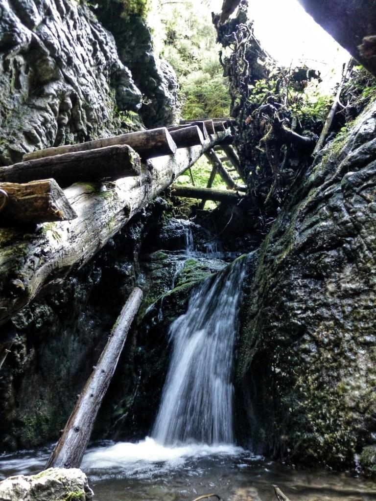 Tiesňava Veľký Sokol, Slovenský Raj Národný Park, Slovensko - 522