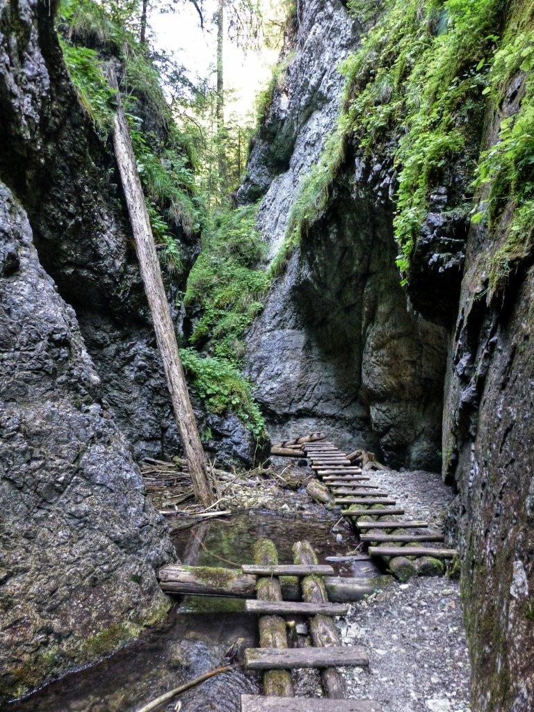 Tiesňava Veľký Sokol, Slovenský Raj Národný Park, Slovensko – 524