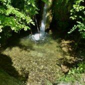 Dolný vodopád, Hájske vodopády, Slovensko