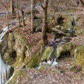 Hájske vodopády - panoráma, Slovensko