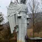 Socha anjela, Háj, Slovensko