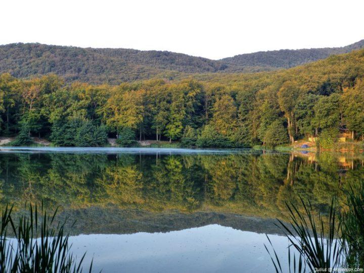 Jazero Izra, Slanec, Košický kraj, Slovensko