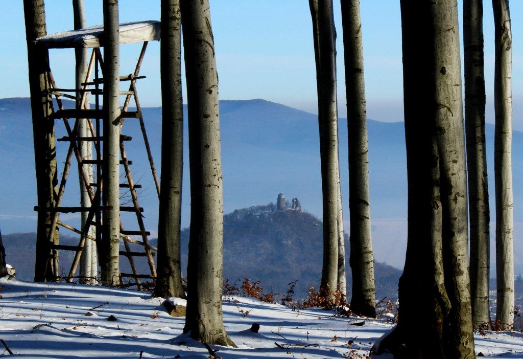 Posed s výhľadom na Slanec a celé okolie, Košický kraj, Slovensko