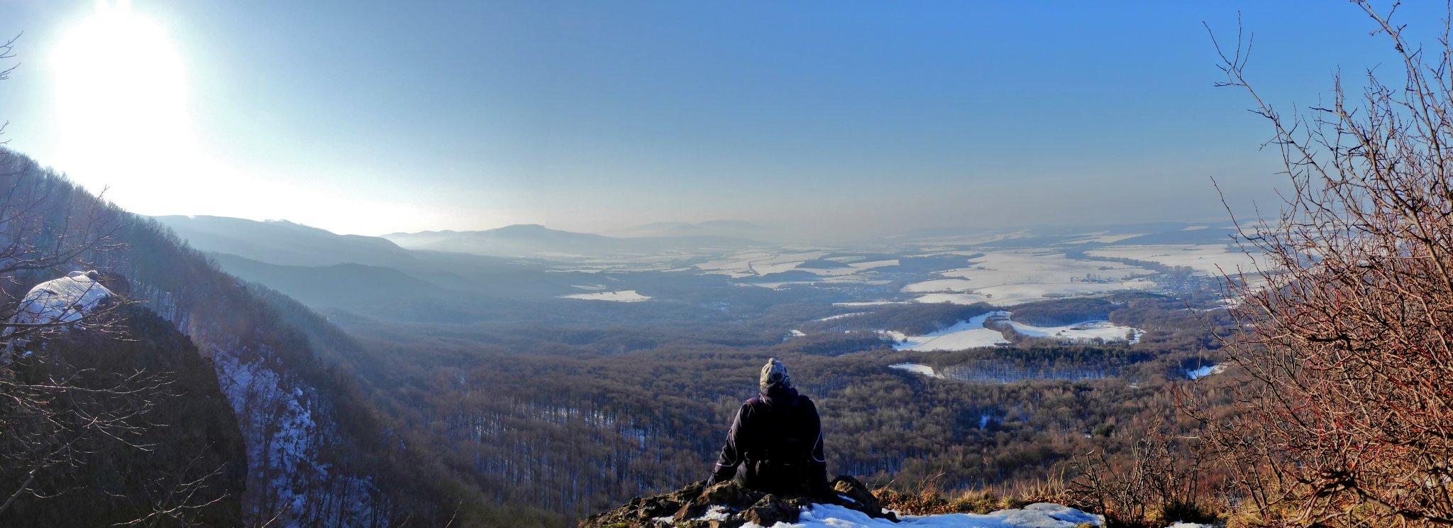 Rankovské skaly – výhľad, Slanské vrchy