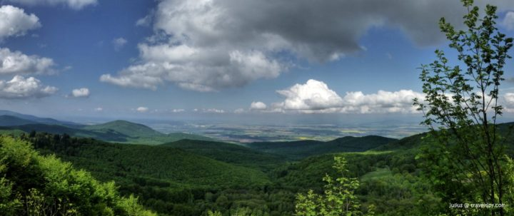 Skárošská vyhliadka, Slanské vrchy, Košický kraj, Slovensko