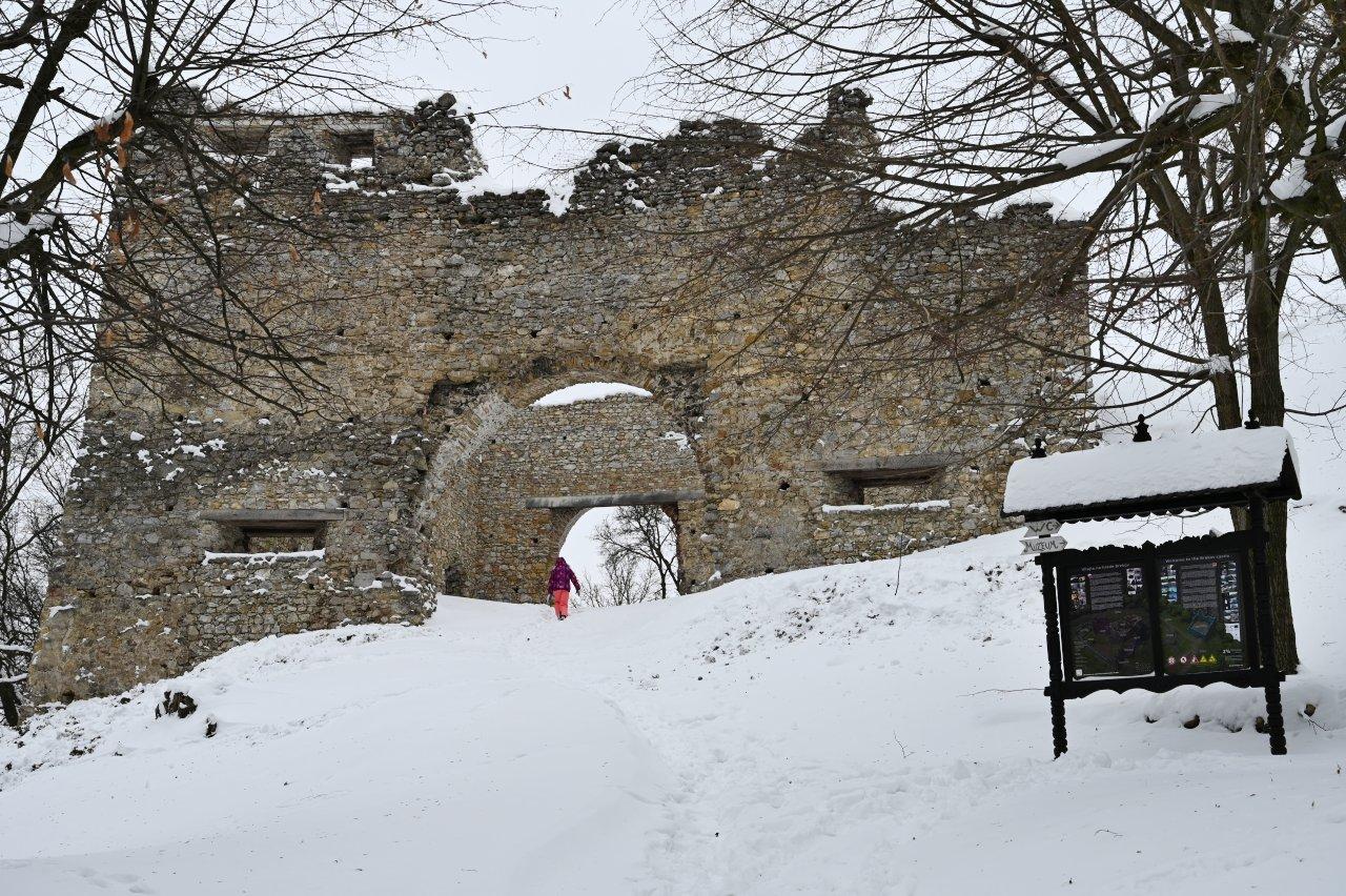 Brekovský hrad, Východné Slovensko – 2