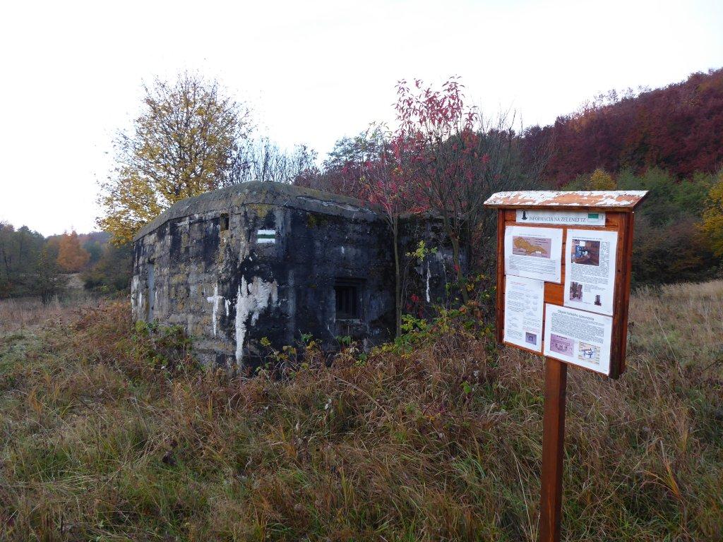 Bunker z 2. svetovej vojny, Slanská Huta, Východné Slovensko