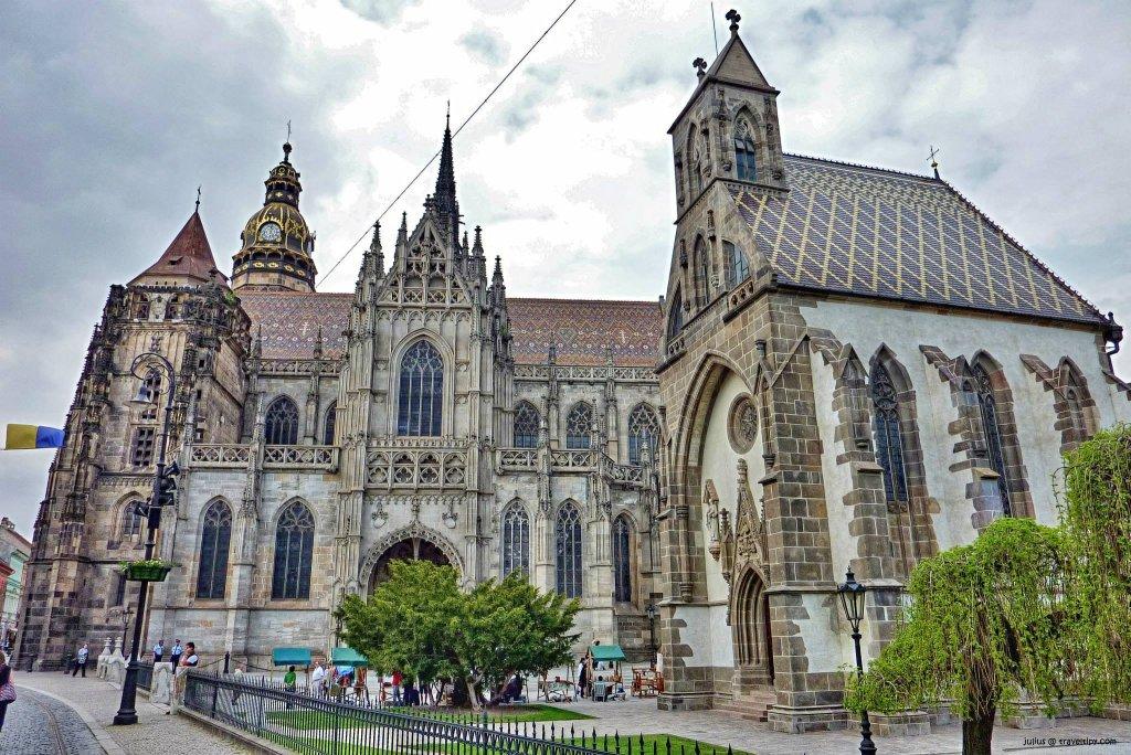 Dóm sv.Alžbety a kaplnka sv. Michala, Košice, Východné Slovensko