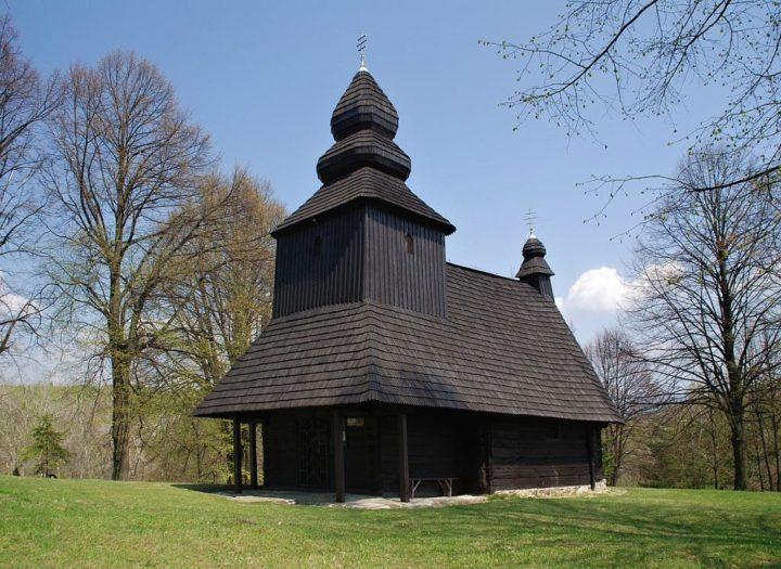 Drevený kostolík Ruská Bystrá, Východné Slovensko