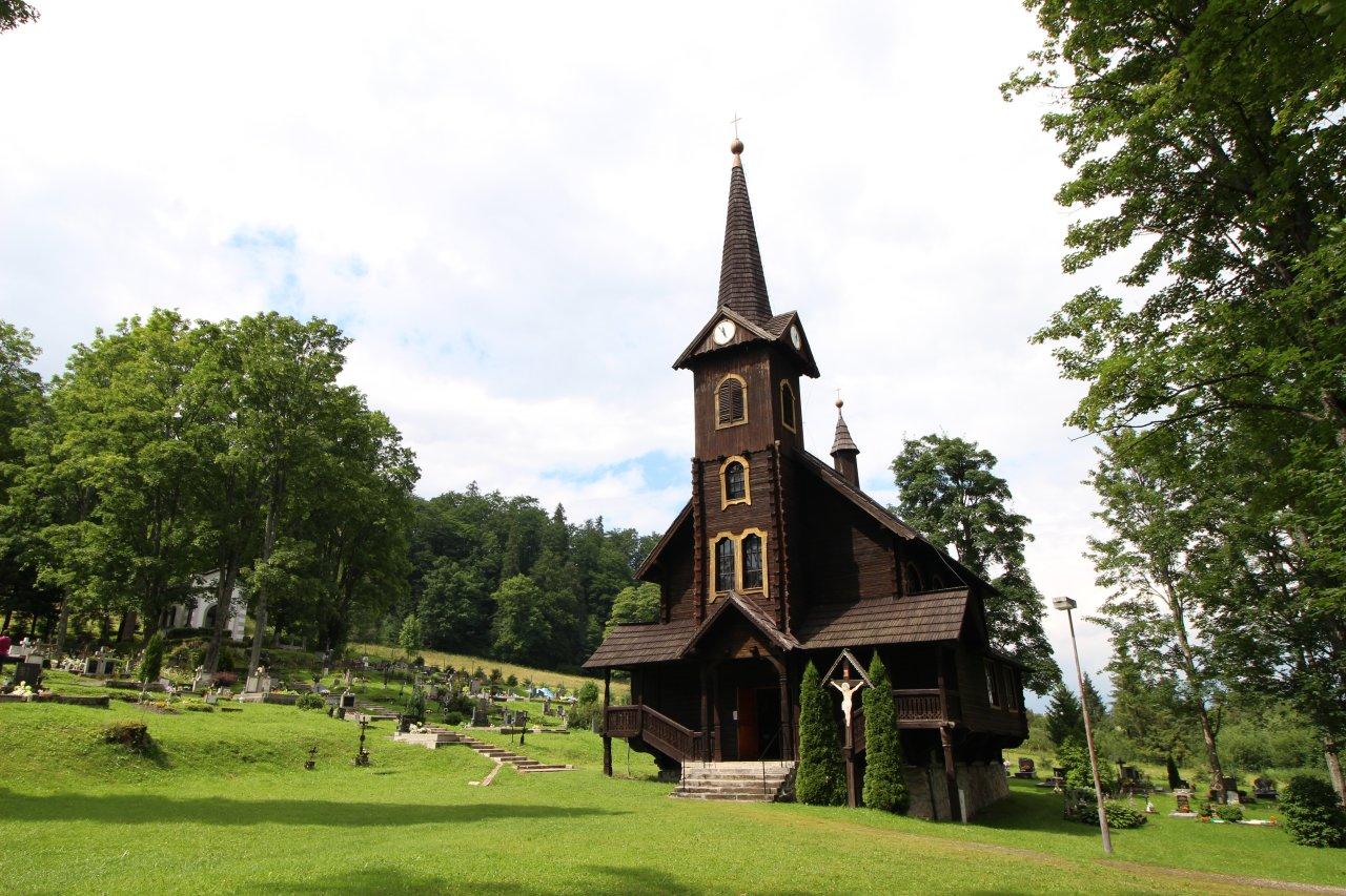 Drevený kostolík sv.Anny, Tatranská Javorina, Kam na výlet Východné Slovensko 2