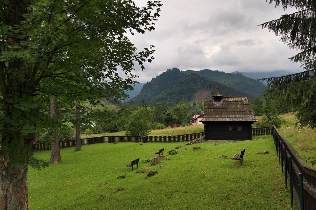 Drevený kostolík sv.Anny, Tatranská Javorina, Kam na výlet Východné Slovensko 5