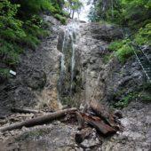 Dúhový vodopád, Kláštorská roklina, Slovenský raj