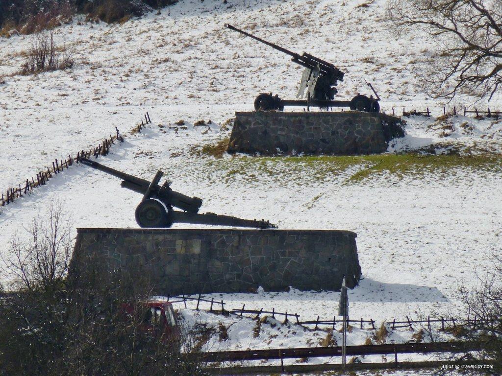 Dukliansky priesmyk, Východné Slovensko