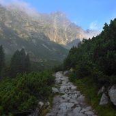 Hmlistá cesta Malou studenou dolinou k Téryho chate, Vysoké Tatry