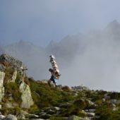 Horský nosič pod Téryho chatou, Vysoké Tatry