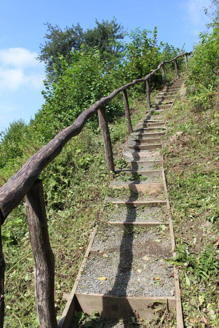 Hrad Šebeš,42 schodov k hradu, Kam na výlet Východné Slovensko
