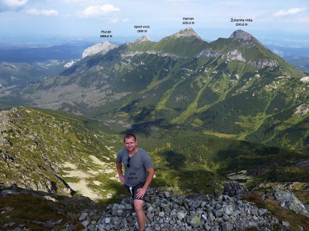 Jahňací štít, Vysoké Tatry, Východné Slovensko