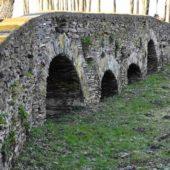 Kamenný gotický most Leles, Dolný Zemplín, Košický kraj