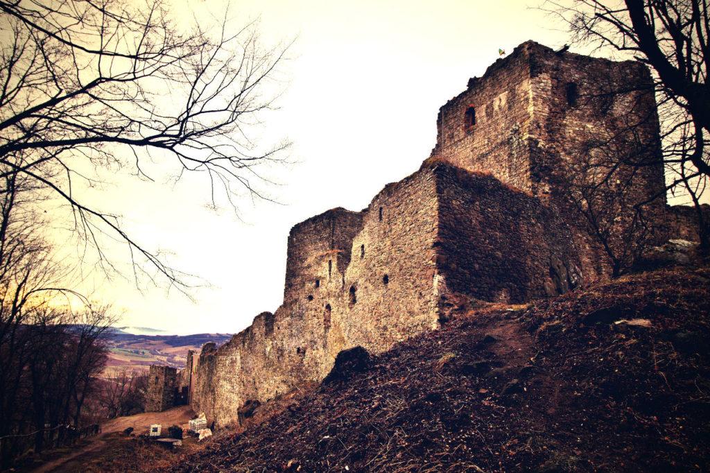 Kapušanský hrad, Kapušany, Prešov, Kam na výlet Východné Slovensko