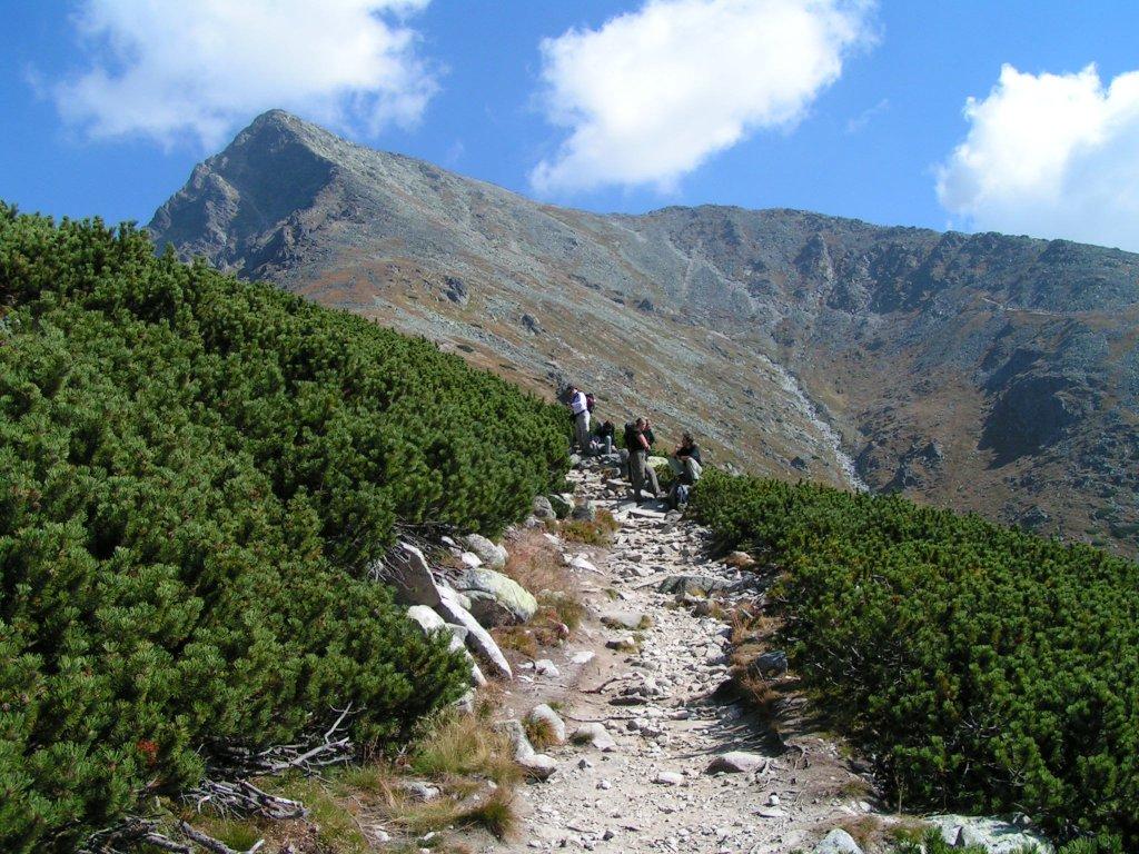 Cesta na Kriváň, Vysoké Tatry, Východné Slovensko