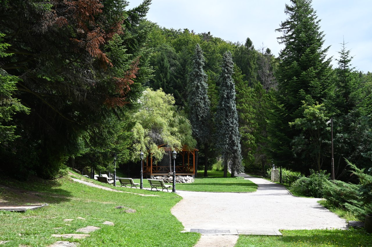 Kúpele Štós – park