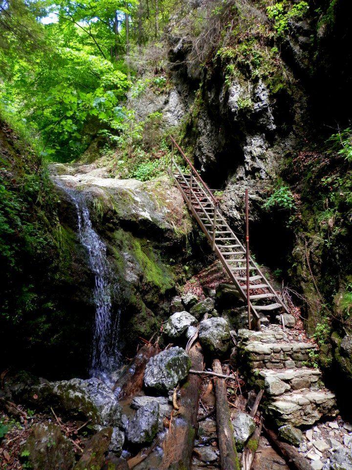 Lačnovský kaňon, Východné Slovensko