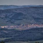 Levoča z vrchu Bukovec 1127m, Východné Slovensko