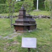 Minigaléria drevených kostolíkov v Uliči